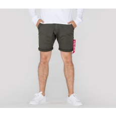 Alpha Industries KEROSENE SHORT - greyblack