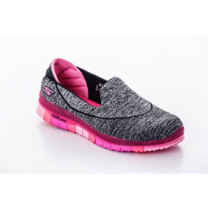 Skechers 14010/BKHP BLACK/HOT PINK