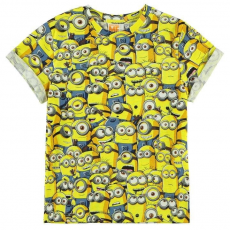 Character gyerek póló - Minions - Character Short Sleeve T Shirt Infant Boys