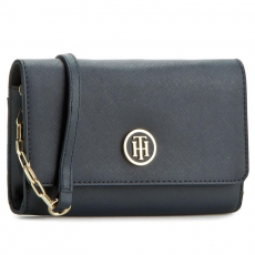 Tommy Hilfiger Táska TOMMY HILFIGER - TH Chain Mini Crossover AW0AW03710 001