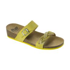 Scholl EVELYNE sárga papucs