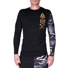 Reebok CrossFit ActivChill LS CROSS T-SHIRT