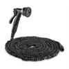 Waldbeck Flex 30 flexibilis kerti locsolócső, 8 funkció, 30 m, fekete