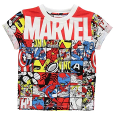 Character gyerek póló - Avengers 2 - Character Short Sleeve T Shirt Infant Boys