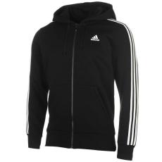 Adidas férfi pulóver - adidas Essentials 3 Stripe Logo Hoodie