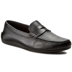 Clarks Mokaszin CLARKS - Reazor Drive 261232447 Black Leather