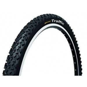 Traffic II 1.9 fekete-fekete reflektoros 26 x 1.9 kerékpár abroncs