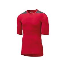 Adidas Rövid ujjú póló, piros, L-es (Adidas Techfit SS) - Spartan 702609