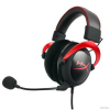 Kingston HyperX Cloud II Gaming headset - piros (KHX-HSCP-RD)