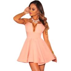 Baba rózsaszín pántos ruha - Egy méret