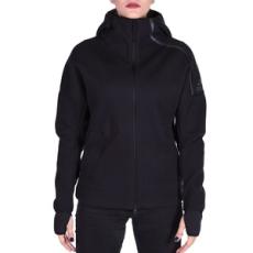Adidas PERFORMANCE végig cipzáros pulóver ZNE Hoody, női, fekete, poliészter, L