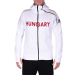 Adidas PERFORMANCE végig cipzáros pulóver ZNE Hoody RAY HUN, férfi, fehér, poliészter, L