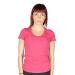 EmporioArmani rövidujjú felső IN MY Pocket, női, rózsaszín, pamut, L