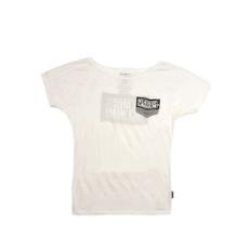 Dorko rövidujjú felső HP T-Shirt, női, fehér, pamut keverék, L