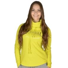 Russel Athletic Belebújós pulóver, Russel Athletic Russell Athletic, női, sárga, pamut keverék, L