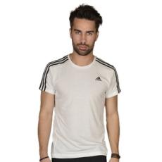 Adidas PERFORMANCE rövidujjú felső ESS 3S Tee, férfi, fehér, pamut, L