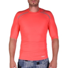 Adidas PERFORMANCE futós póló TF Chill SS Shored, férfi, piros, pamut, L