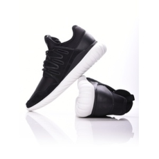 ADIDAS ORIGINALS férfi utcai cipő Tubular Radial, fekete, kötött, 41,3