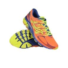 Saucony férfi futócipő PowerGrid+ Zealot ISO, narancssárga, mesh, 44, neutrális
