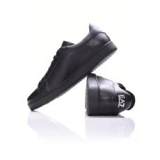 EmporioArmani unisex utcai cipő Pelletteria Shoes, fekete, bőr, természetes, 36,6