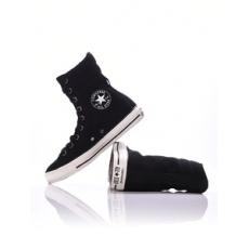 Converse női utcai cipő Chuck Taylor All Star Hi-Rise Suede + Sh, fekete, bőr, velúr, 36