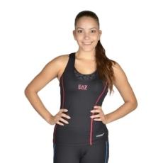 EmporioArmani fitness felső Women's Knit Tank, női, fekete, poliamid, L