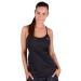 Adidas PERFORMANCE fitness felső Clima ESS Strap, női, fekete, poliészter, L