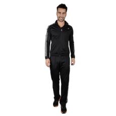 Adidas PERFORMANCE jogging szett Clima Knit Suit, férfi, fekete, poliészter, L