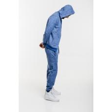 Dorko nadrág Basic Sweat Pant Blue Marl, férfi, kék, pamut, L