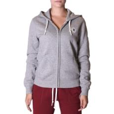 Converse végig cipzáros pulóver Core Full ZIP Hoodie, női, szürke, pamut, L