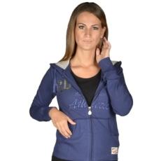Russel Athletic Végig cipzáros pulóver, Russel Athletic Russell Athletic, női, kék, pamut, L