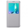 Samsung Galaxy S6 Edge Plus S-View oldalra nyíló tok, ezüst