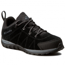 Columbia Bakancs COLUMBIA - Youth Venture BY2858 Black/Graphite 010