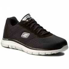 Skechers Cipők SKECHERS - Covert Action 51458/BKW Black/White