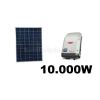 10 kWp rendszer Sharp napelem+ Fronius inverter
