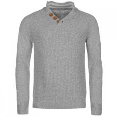 SoulCal SoulCal gombos kötött pulóver férfi