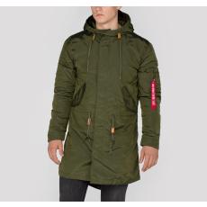 Alpha Industries Hooded Fishtail TT - dark green