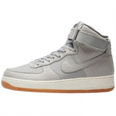 Nike Air Force 1 HI Premium női sportcipő, Wolf Grey, 36.5 (654440-008-6)