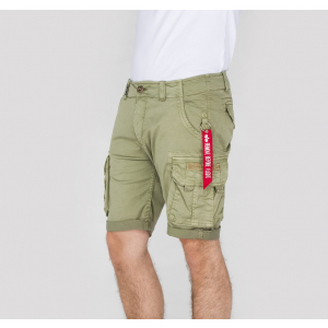 Alpha Industries CREW SHORT - light olive