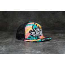 Vans Beach Girl Trucker Black Tropical