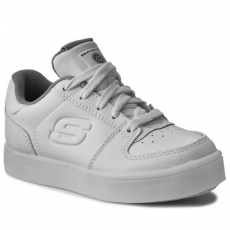 Skechers Félcipő SKECHERS - Energy Lights 90601L/WHT White