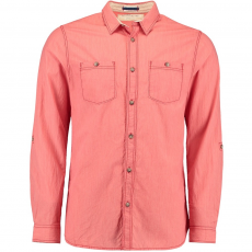 O'Neill LM Beach Break L/SLV Shirt Ing D (O-7A1306-q_3077-Aurora Red)