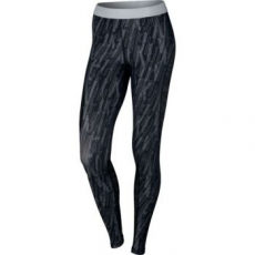 Nike Pro Hypercool Graphic black/platinum női leggings, L (830580-010-L)