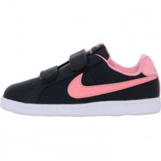 Nike Court Royale Gyerek sportcipő, Anthracite/Bright Melon, 34 (833655-002-2.5y)