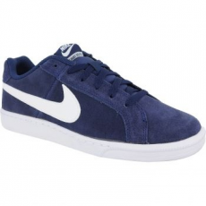 Nike Court Royale Suede Férfi Sportcipő, Midnight Navy/White, 42 (819802-410-8.5)