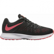 Nike Zoom Winflo 3 Női futócipő, Black/Hot Punch, 38 (831562-010-7)