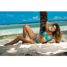 marko Bikini Doreen Tripoli-Caraibi M-435 türkizkék/barna