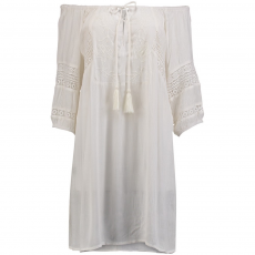 O'Neill LW Boho Beach Cover Up Ruha D (O-7A8932-q_1030-Powder White)