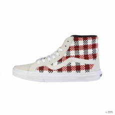 Vans Unisex edzőcipős SK8-HI-RE-CHECK-PLAID_VN-O3CAGFO