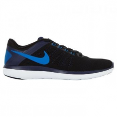 Nike Flex 2016 RN Férfi futócipő, Black/Binary Blue, 41 (830369-014-8)